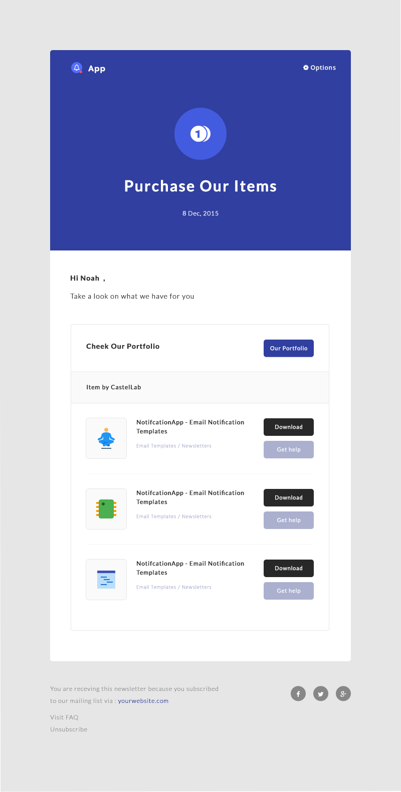 NotificationApp - Responsive Notification Email HTML Templates by ...