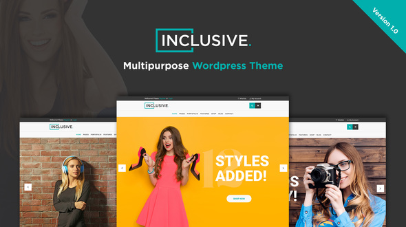 Inclusive - Multipurpose WooCommerce WordPress Theme - WooCommerce eCommerce