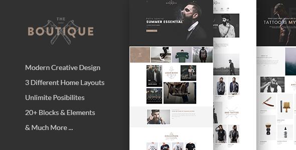 Boutique – Multipurpose WooCommerce Theme
