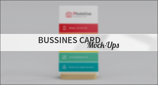 Bussines Card Mock-Ups