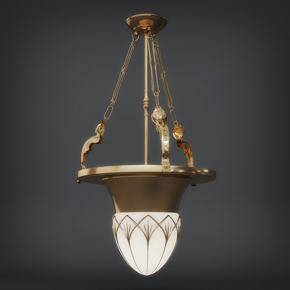 Hanging Light (3dsmax + Vray Ready) - 3DOcean Item for Sale