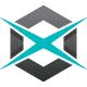 Xcentrix X letter Logo