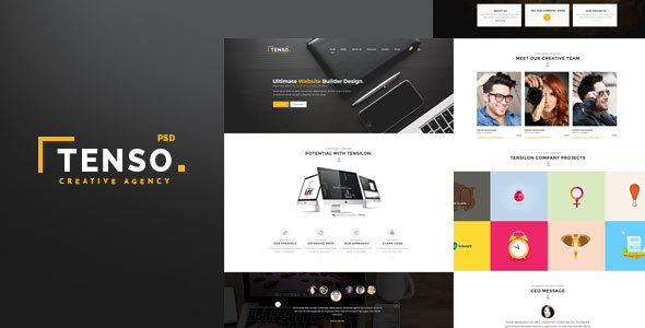Tenso – Creative Multipurpose Template