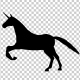 Unicorn Silhouette Galloping - VideoHive Item for Sale