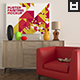 Poster Painting Mockup Vol. 7 - GraphicRiver Item for Sale