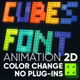 Cubes font - VideoHive Item for Sale