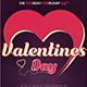 Valentines Day Flyer Template V9 - GraphicRiver Item for Sale
