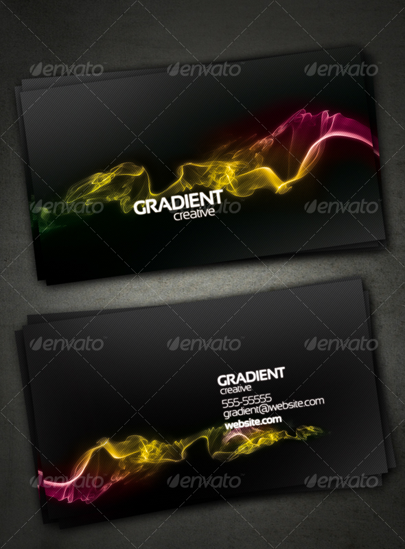 Gradient Creative Card - Creative Business Cards