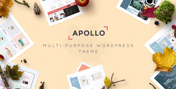 Apollo – Responsive Multi-Purpose WordPress Theme