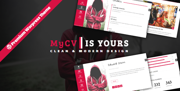 MyCV – Personal Business VCard – WP