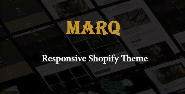 Marq – Responsive Shopify Theme
