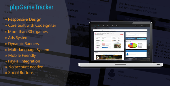 phpGameTracker - Game Servers Statistics - CodeCanyon Item for Sale