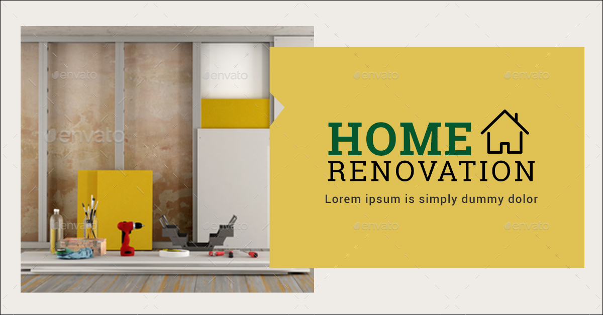 home renovation banners
