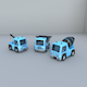 TOY TRUCKS - 3DOcean Item for Sale