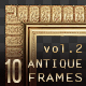 10 Antique Classic Picture Frames vol.2 - GraphicRiver Item for Sale