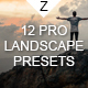 12 Pro Landscape Presets - GraphicRiver Item for Sale