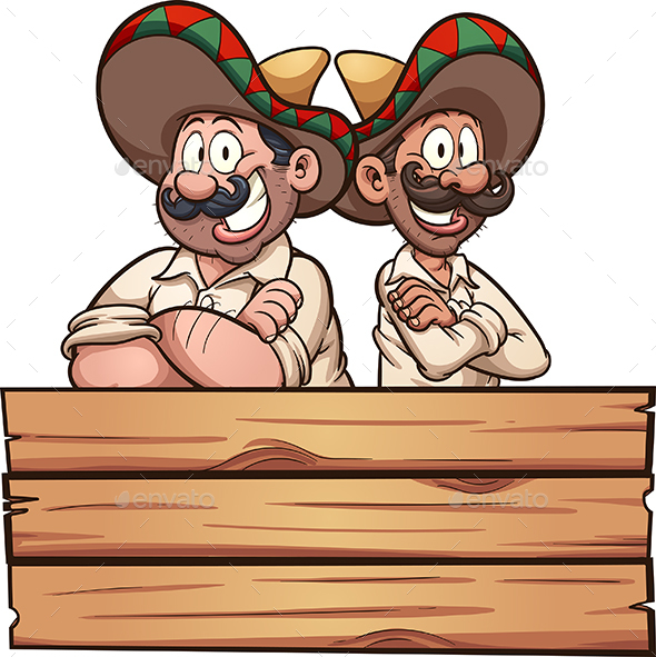 Mexican Friends - People Characters