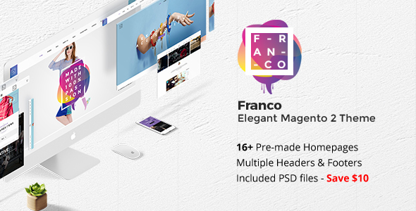 Franco – Elegant Magento 2 and 1 Theme