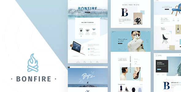 Bonfire – Creative Multi-Purpose PSD Template