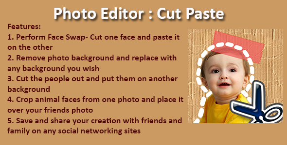 Photo Editor: Cut Paste - CodeCanyon Item for Sale