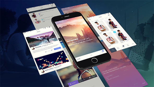 phone app presentation template3uma | videohive, Powerpoint templates