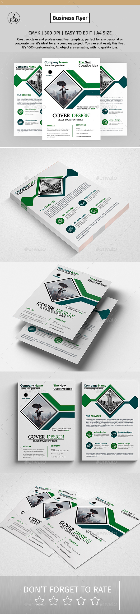 Corporate Flyer 60 - Corporate Flyers