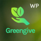 Greengive | Fundraising & Charity WordPress Theme Nulled