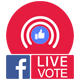 Facebook Live Reactions Vote - Multiple