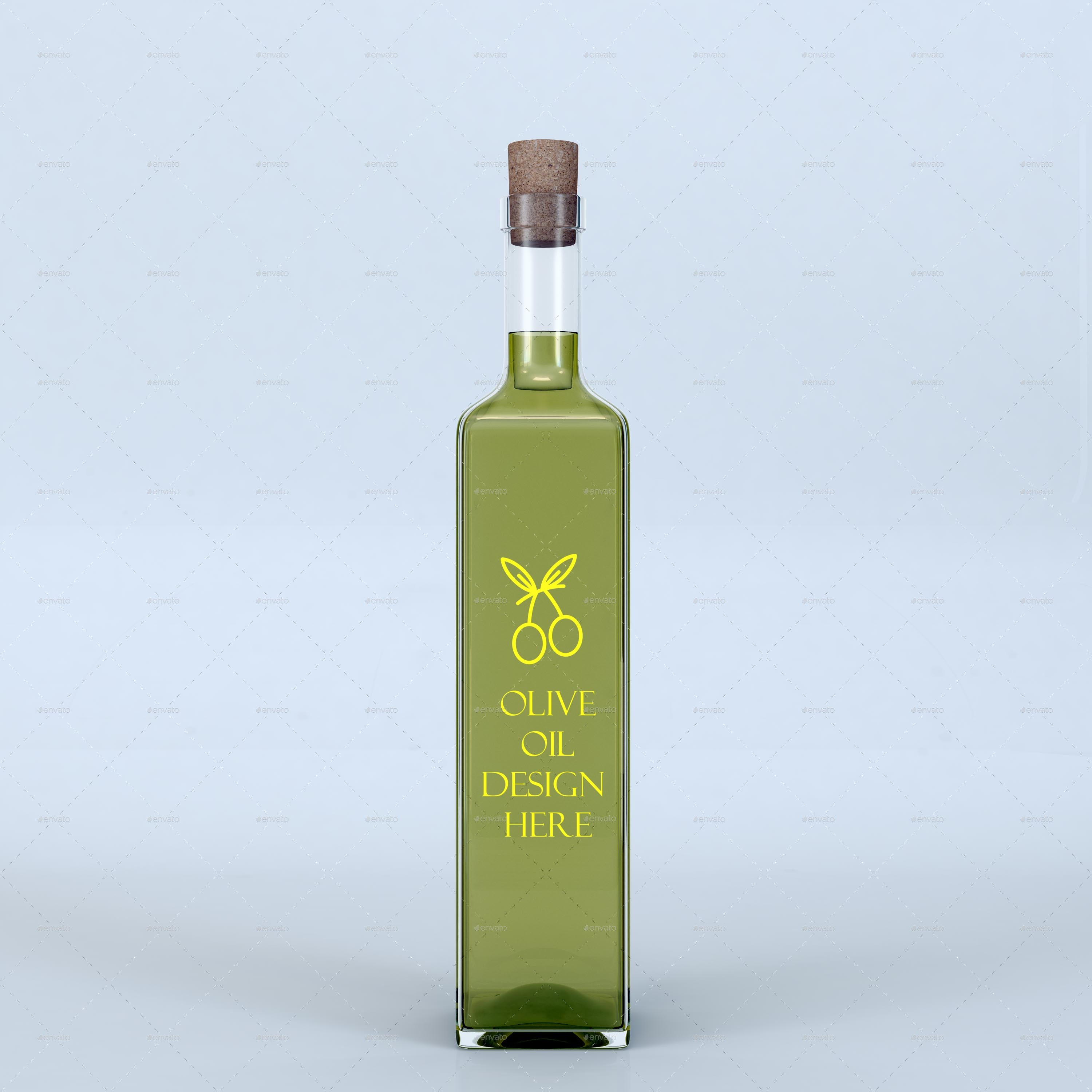 Well known Minimalist Olive Oil Mockup by desgiant | GraphicRiver FM87