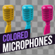 Colored Microphones - VideoHive Item for Sale