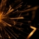 Firework Sparkler Burning in  Shot - VideoHive Item for Sale