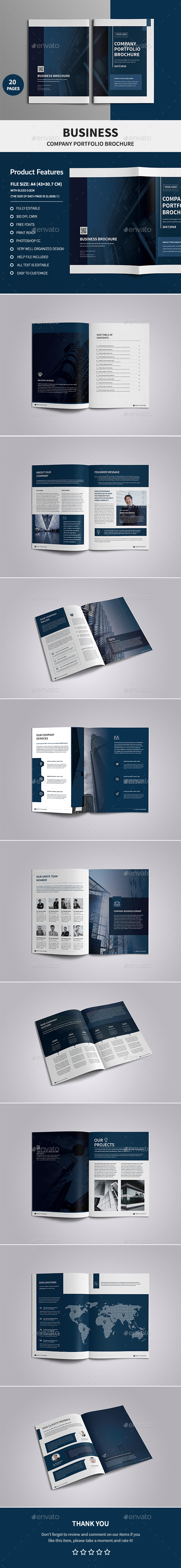 Corporate Company Profile Brochure - Corporate Brochures