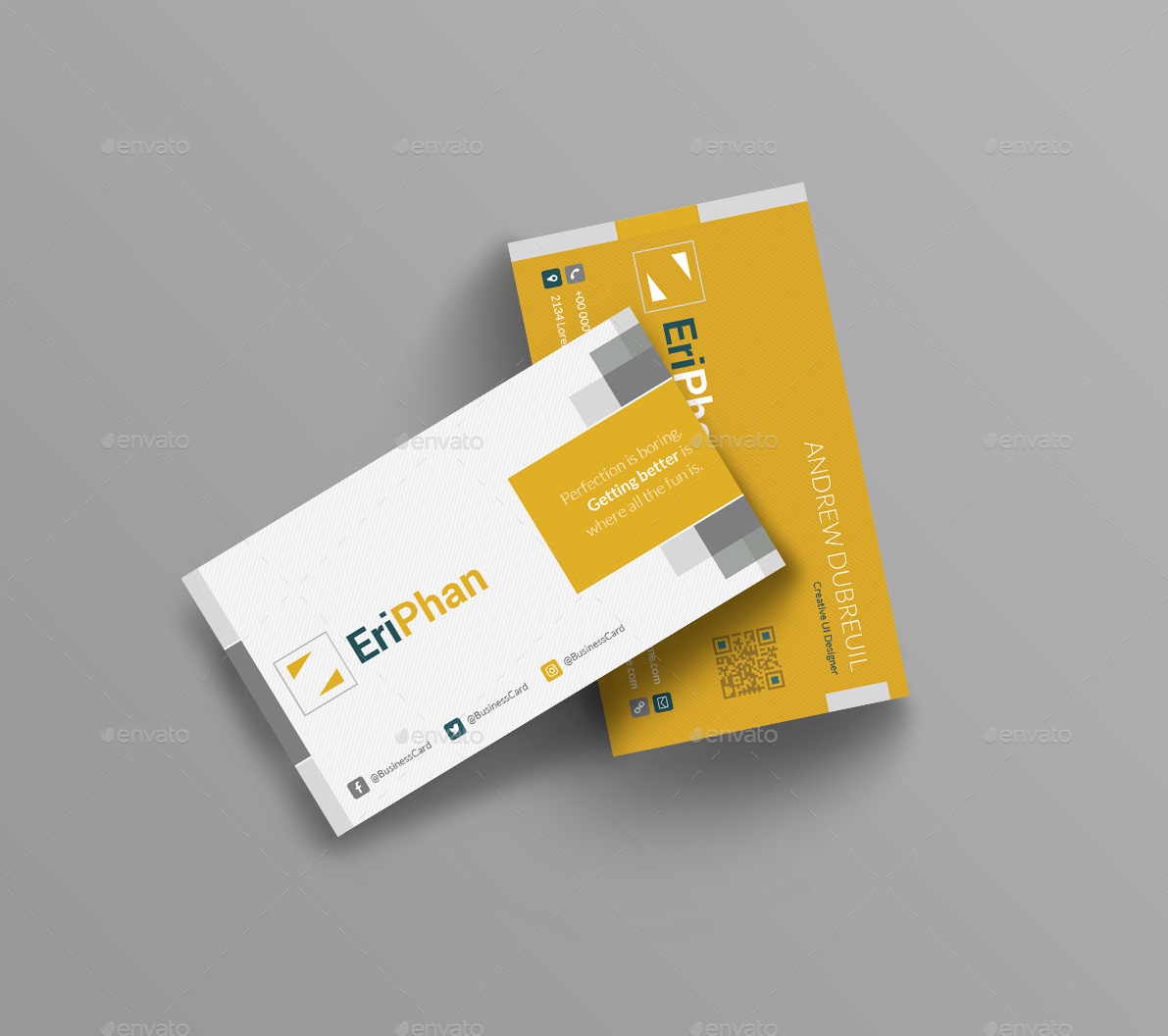 EriPhan Business Card by templatescraze | GraphicRiver