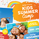 Kids Summer Camp Flyer-Graphicriver中文最全的素材分享平台