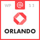 Orlando - Creative Infographics WordPress Theme Nulled