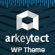 Architecture WordPress Theme - Arkeytect - ThemeForest Item for Sale