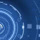 Futuristic Blue Hi-Tech Background - VideoHive Item for Sale