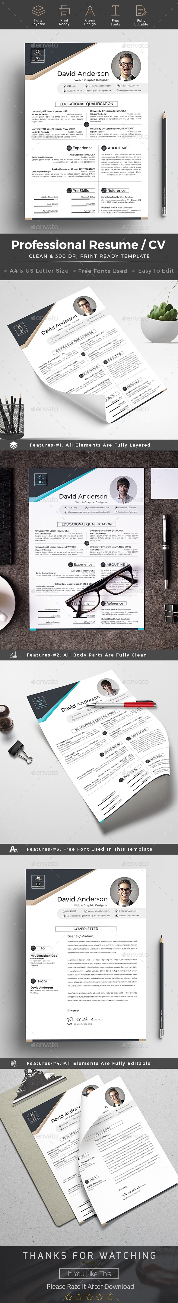 Resume cv word - Resumes Stationery