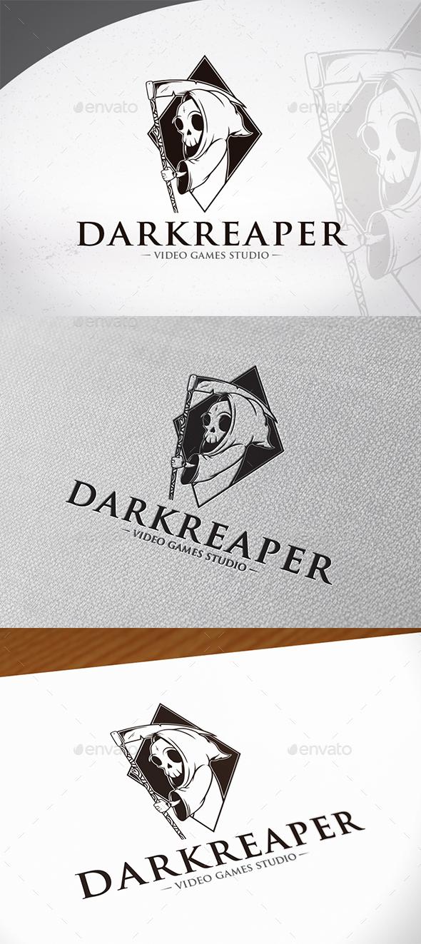Dark Reaper Logo Template - Humans Logo Templates