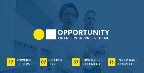 Opportunity – A Professional Theme for Consulting and Finance Businesses