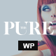 Pure - Fashion and Lifestyle WordPress Theme for Blogging Nulled