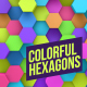 Colorful Hexagons Background - VideoHive Item for Sale