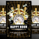 Happy Hour Flyer Template #3 - GraphicRiver Item for Sale