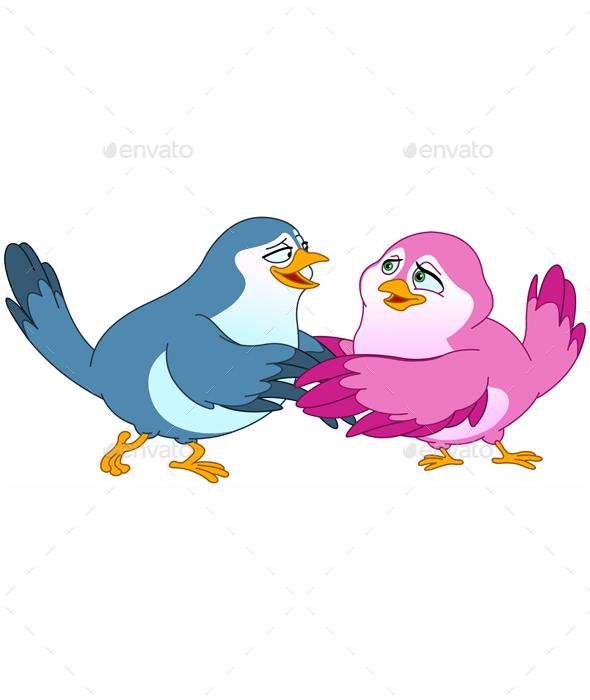 Birds - Animals Characters