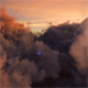Flying Through Sunset Clouds - VideoHive Item for Sale