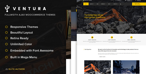 Ventura – Industrial WordPress Theme
