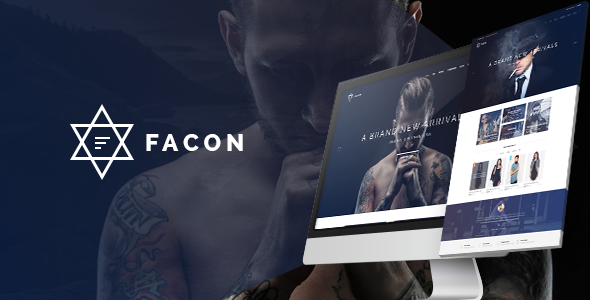 Image of Facon - Fashion Responsive Opencart Theme