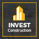 INVEST - Construction PSD Template Nulled