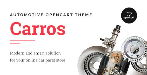 Image of Carros — Car Parts OpenCart Theme