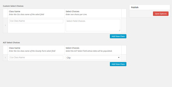 Gravity Forms ACF Select Field Choices - CodeCanyon Item for Sale